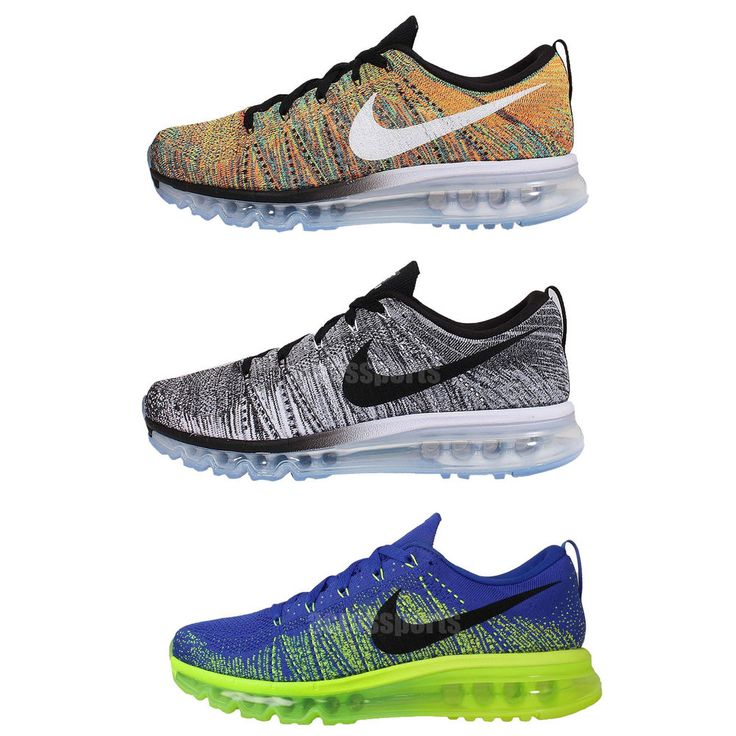 Nike Flyknit Max Mens Cushion Running Casual Shoes Sneakers Air Max 360  Pick 1 http://www.ebay.com.au/itm/Nike-Flyknit-Max-Mens-Cushion-Running-Ca\u2026