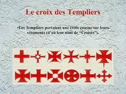 Les différentes Croix des Templiers