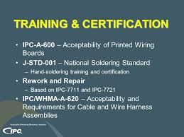 BEST is a leader in training technology. BEST has performed IPC and Custom Solder Advanced Training Courses for customers throughout the United States. BEST offer various courses that provide the understanding of today's industry standards and procedures such as IPC-A-610, J-STD-001, IPC-7711/7721 and IPC/WHMA-A-620.