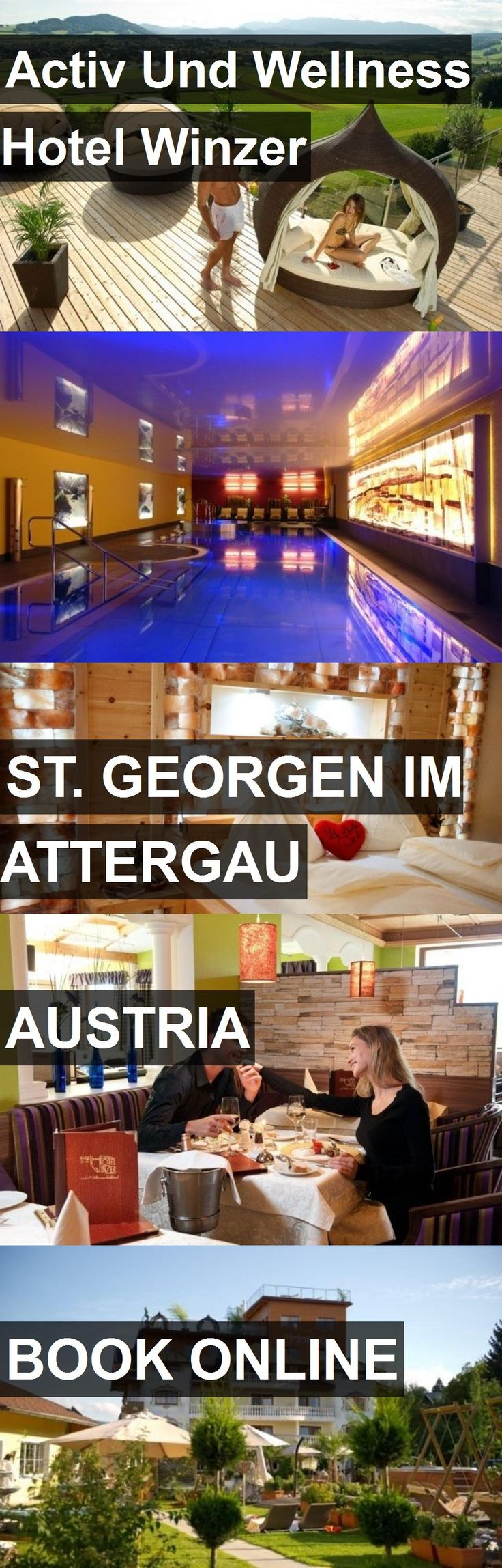 Activ Und Wellness Hotel Winzer in St. Georgen im Attergau, Austria. For more information, photos, reviews and best prices please follow the link. #Austria #St.GeorgenimAttergau #travel #vacation #hotel