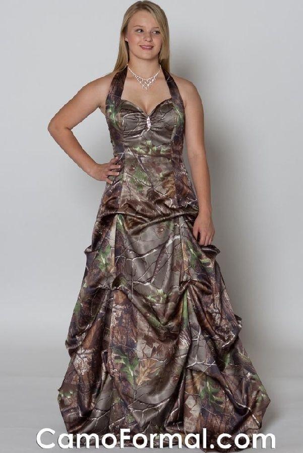 74 best camo prom images on Pinterest | Camo wedding dresses, Camo ...