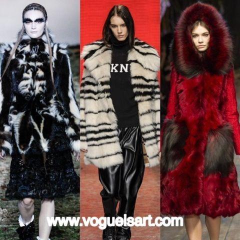 2014-2015 F/W fashion,2014-2015 Sonbahar/kış modası,2014-2015 Sonbahar/kış moda trendleri,2014-2015 Sonbahar/kış kadın modası,Eccentric Fur,Eksantrik,Kürk
