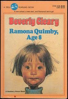 Ramona books --- Beverly Cleary LOVE. LOVE.