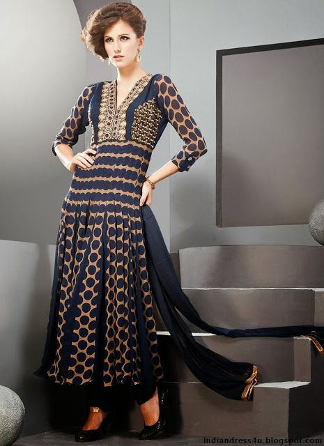 Indian Designer Suits For Women For Wedding 2013-14 - Beautiful Indian Dresses