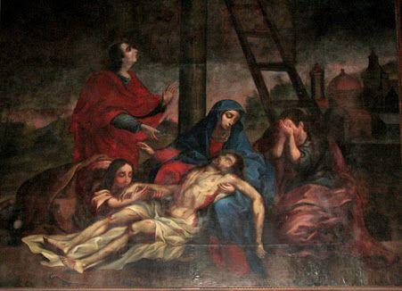 La flagelación  Finales de 1600 Autor: Tomás de Merlo