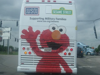 USO Tour for Military families