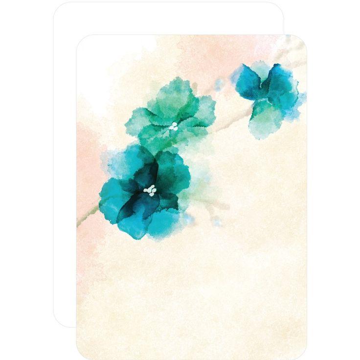 Soft Bougainvillea Watercolor Design