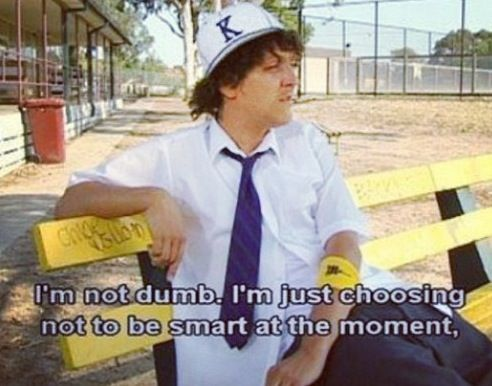 words of wisdom from Jonah, love summer heights high