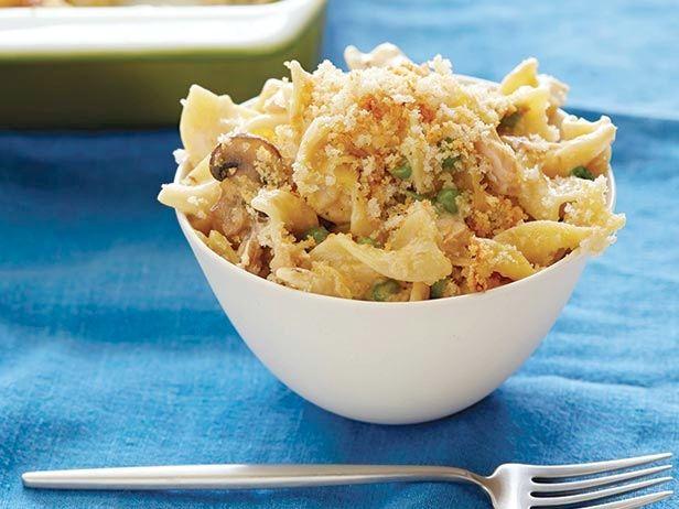 Sunny's Tuna Noodle Casserole Recipe : Sunny Anderson : Food Network - FoodNetwork.com