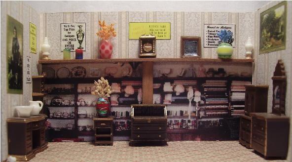 Antique Store Interior