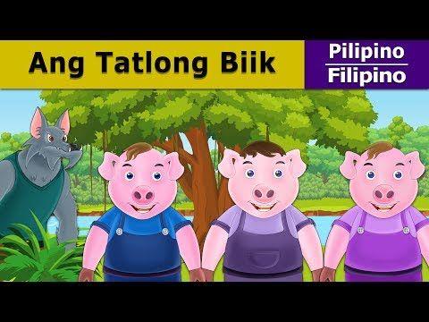 Ang Tatlong Biik - Kwentong Pambata - Pambatang Kwento - 4K