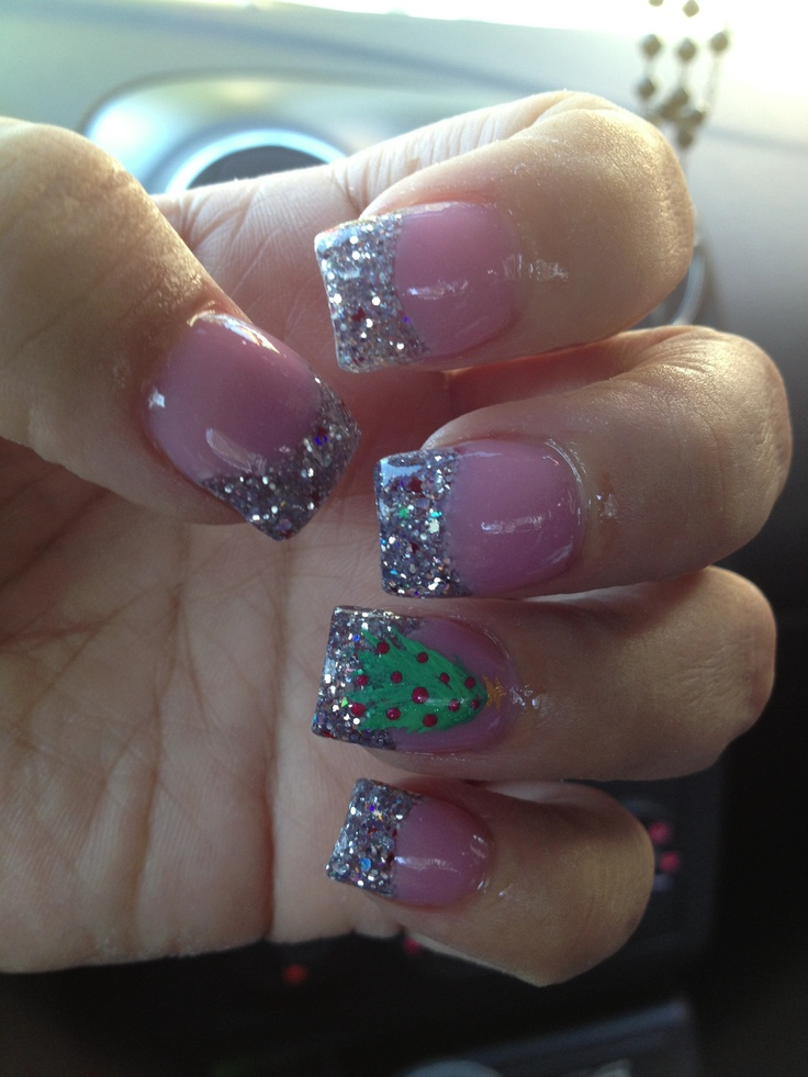 Christmas nails 2012 by Angela Jones