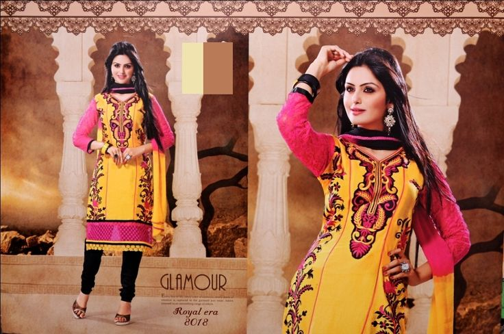 Latest yellow punjabi suit