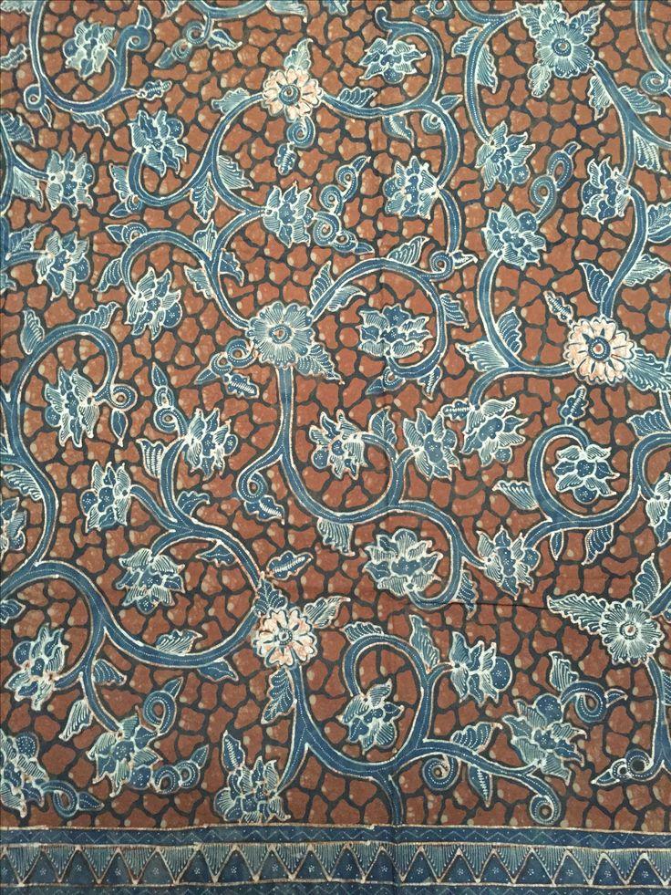 Batik tulis Wonosobo - lar kembang