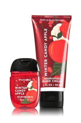 Winter Candy Apple PocketBac & Hand Cream Duo - Soap/Sanitizer - Bath & Body Works