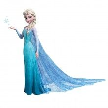 Frozen Elsa Giant Wall Decals with Glitter http://www.muralsforkids.com/products/Frozen-Elsa-Giant-Wall-Decals-with-Glitter.html