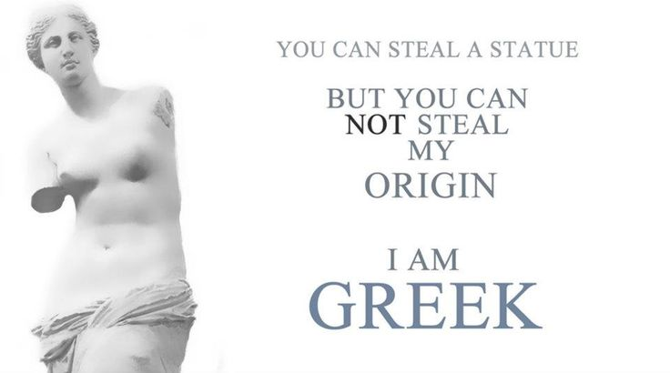 ...my origin is Greek