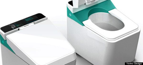 Health, Self Monitoring, Technology: Smart Toilets from Japan - Doctors in Your Bathroom, toilet analyzs health (monitors e.g. weight, BMI, blood pressure, and blood sugar levels) http://singularityhub.com/2009/05/12/smart-toilets-doctors-in-your-bathroom/