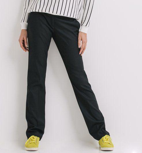 Pantalon+droit+Femme
