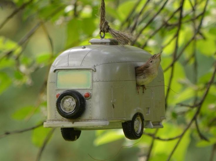 Supercute birdhouse ! *Nice enough to stay North for the Winter!!!