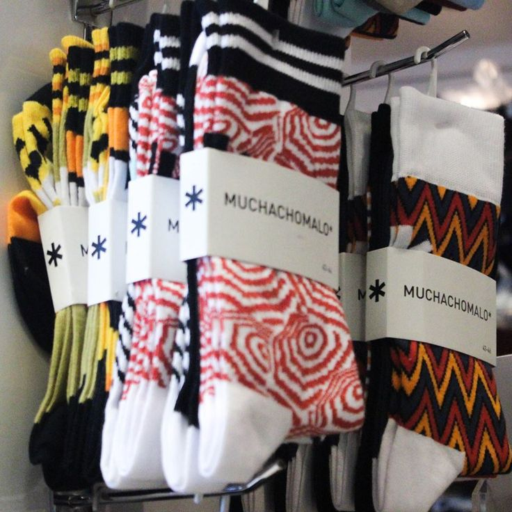 Creative designs make Muchachomalo socks wearable out. Help your give your feet a little extra colour under your shoes!  #YYC #YYCClothing #Lingerie