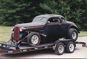 1936 dodge 5 window coupe chopped top classic rat rod hot for 1936 dodge 5 window coupe