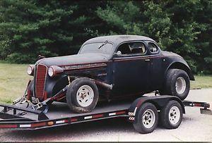 1936 Dodge 5 Window Coupe Chopped Top Classic Rat Rod Hot Rod ...