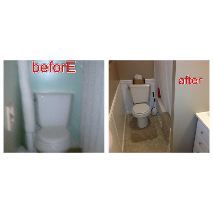 Diy wainscoting bathroom
