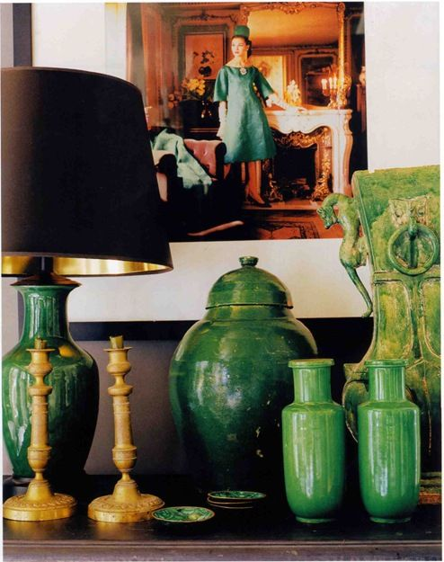 Beautiful vignette by Mary Mcdonald Interiors