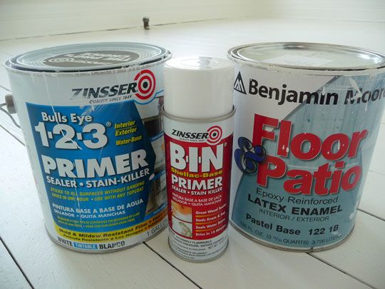 how to paint your floors white...(whew, im exhausted already! :)