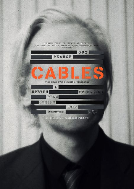Guy Pearce: Cables Movie Poster. #design #typography