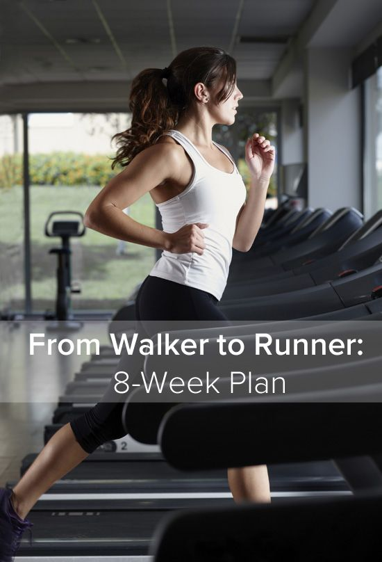 From Walker to Runner: 8-Week Plan... I hate running, let's see if this will work?