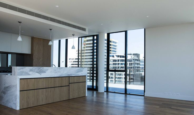Lucia, standing proud in South Yarra's skyline, view from penthouse suite. http://www.edgearchitectural.com.au/lucia-standing-proud-in-south-yarras-skyline/ #apartments #penthouse #lucia #architcture #elenbergfraser #Melbourne #design #penthouse