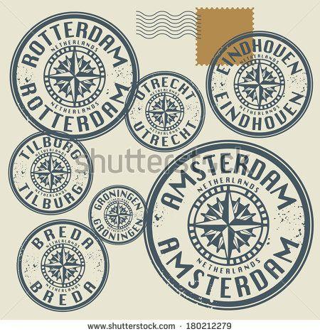 Rotterdam Stockvectoren & vectorclipart | Shutterstock