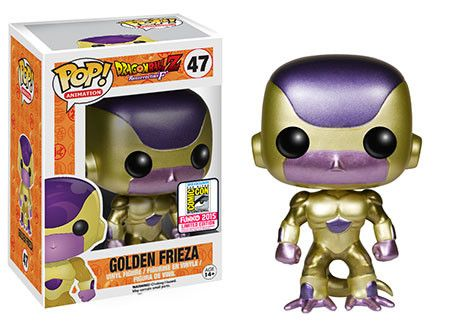 San Diego Comic-Con Exclusives: Pop! Animation: Dragon Ball Z - Golden Frieza