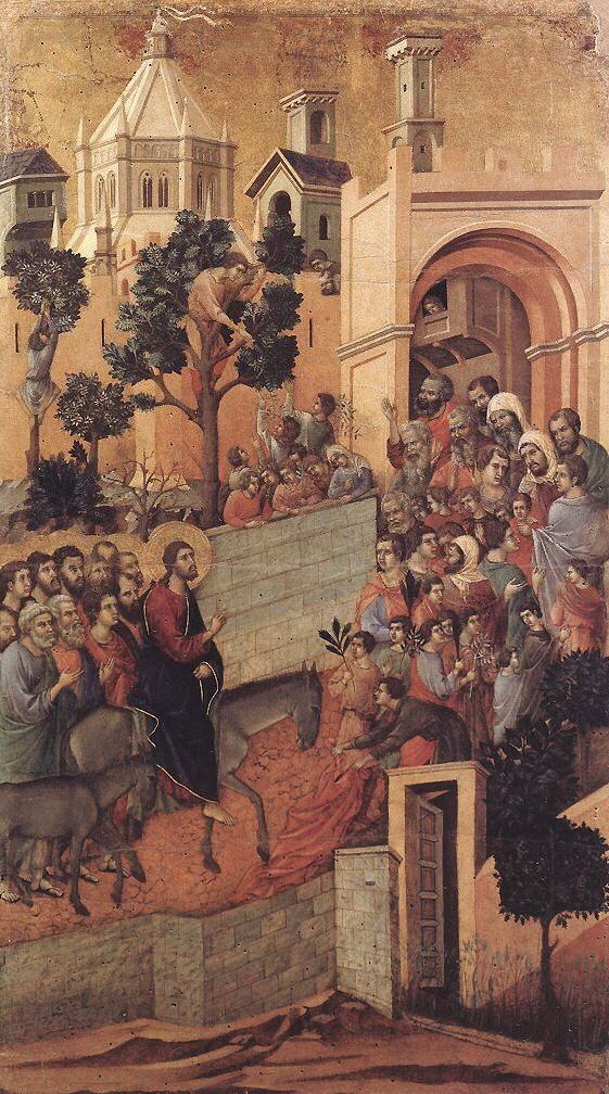 Duccio, Entry into Jerusalem