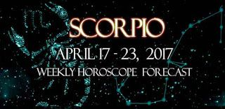 Scorpio Weekly Horoscope: April 17 - April 23