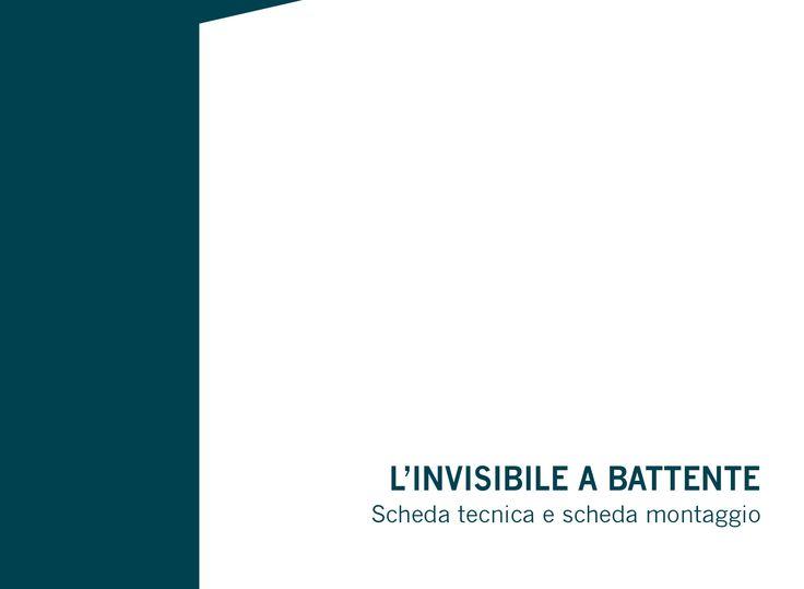 La #PortaBattente, l'originale porta brevettata a totale filo muro progettata da #LInvisibile. Scarica la scheda tecnica e di montaggio: http://app.linvisibile.it/appfiles/schede_tecniche/it/scheda_Battente.pdf