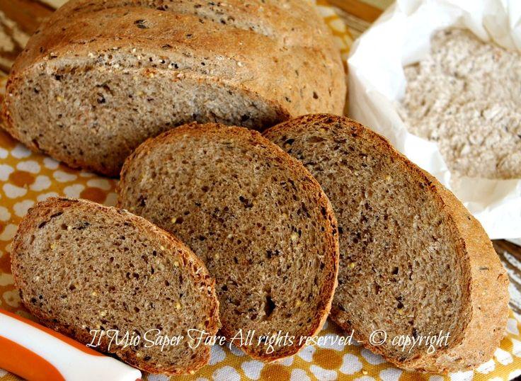 Pane cereali fatto in casa ricetta il mio saper fare