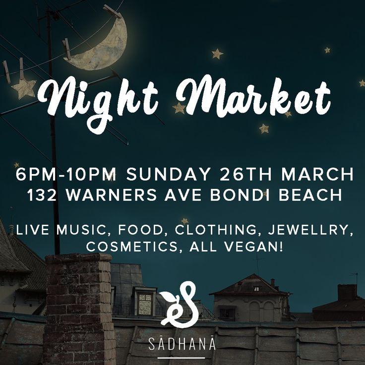 Sahdana Night Markets Bondi