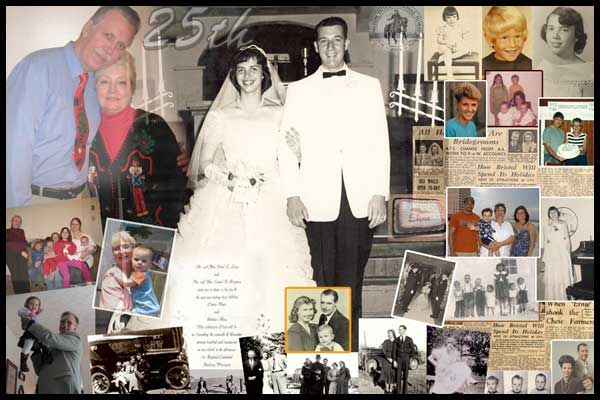 Golden Wedding Gift Ideas For Parents: 84 Best Anniversary Collage Images On Pinterest