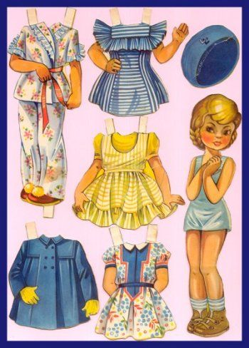 Ingrid Molzen. PDsamler. Online Interest Group on paper dolls.