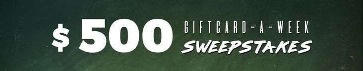 Did you enter this week? Weekly winner receives a $500 Callaway Golf Pre-Owned Golf Gift Card!