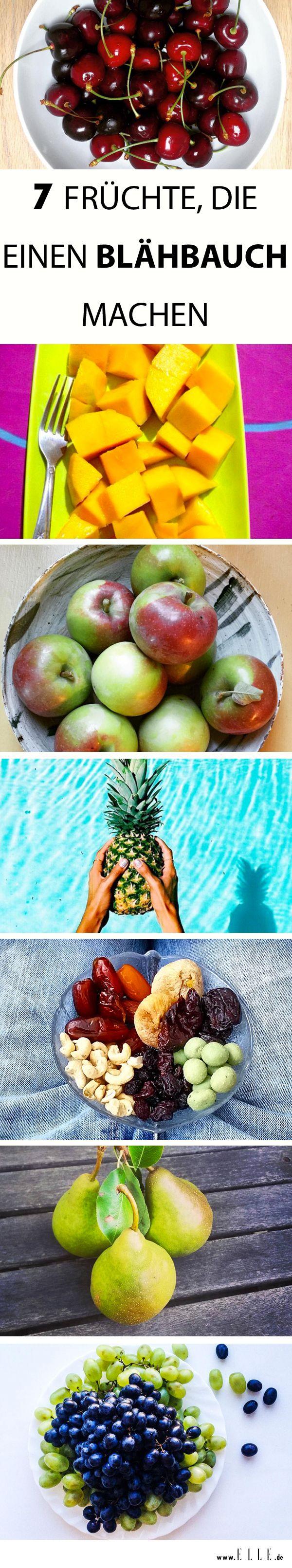 Die Hose zwickt, der Bauch rumort – ein Blähbauch ist unangenehm und unschön. Wir haben 7 Früchte zusammengestellt, die daran schuld sind! http://on.elle.de/1Emu7Uo