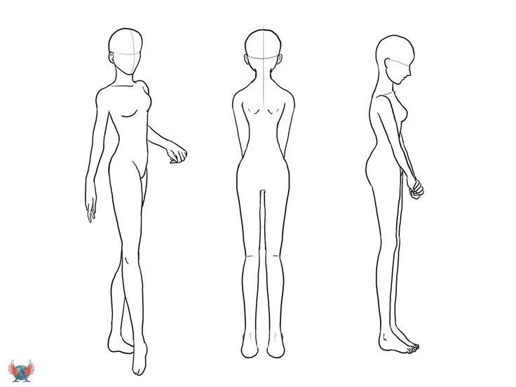 Girl Body Outline Vaydileforic