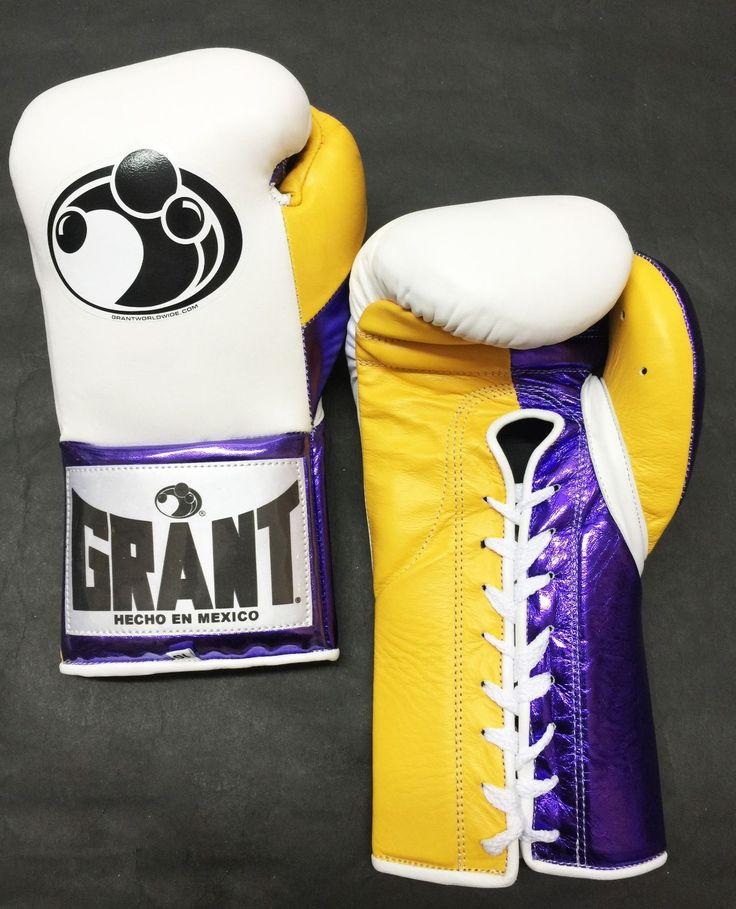 Grant Boxing Custom 10 oz Pro Fight Gloves GGG La Colorway Authentic | eBay
