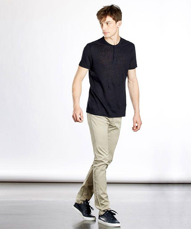 look Zapa avec t-shirt en lin et pantalon en coton #zapa #lin #conseilmode
