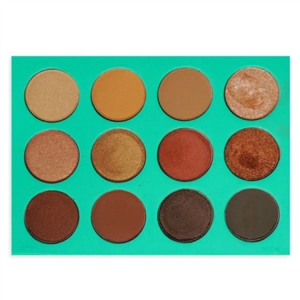 The Nubian Eyeshadow Collection - Green (12pcs)
