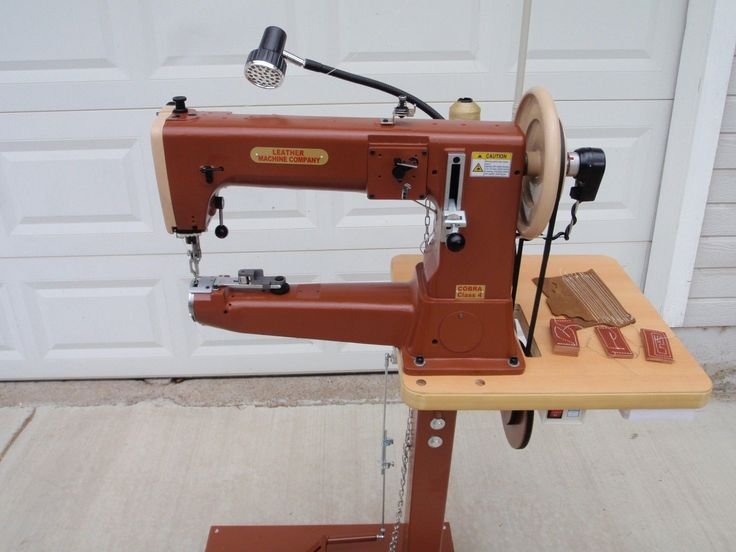 leather industrial sewing machine