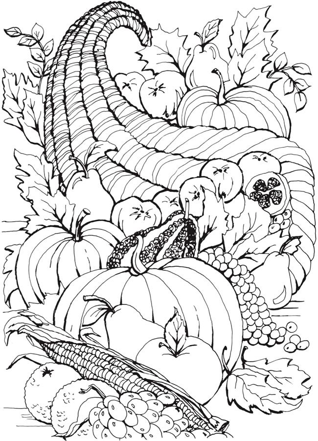 Welcome To Dover Publications Fall Coloring Pages Thanksgiving Coloring Pages Designs Coloring Books